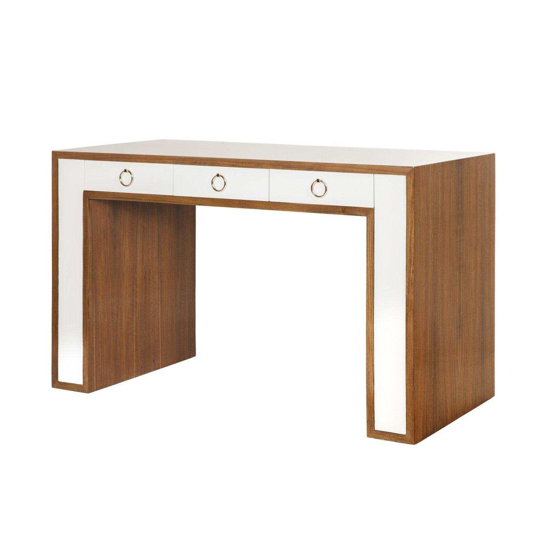 Thomas Br Desks Tables Collection Rosewood Desk White W 52 D 24 H