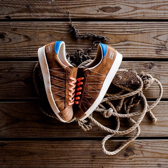 Consorzio Unione X Adidas Superstar 80 Decimo Anniversario Calci
