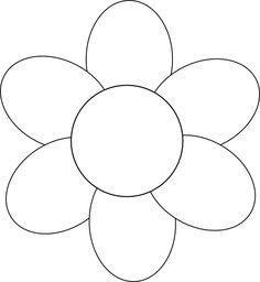 flower template free printable   Google Search | μονικα