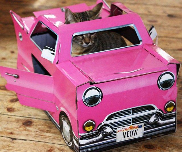 Cadillac Cat Playhouse