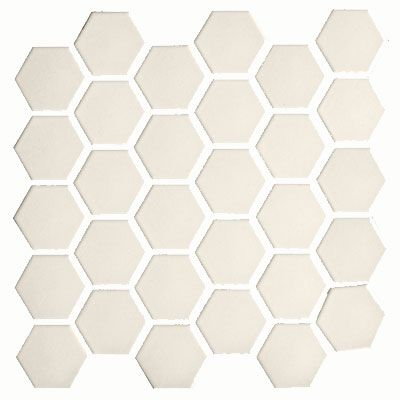 Ceramic Mosaic Floor Tile With Bone Color Adex Usa Coordinating