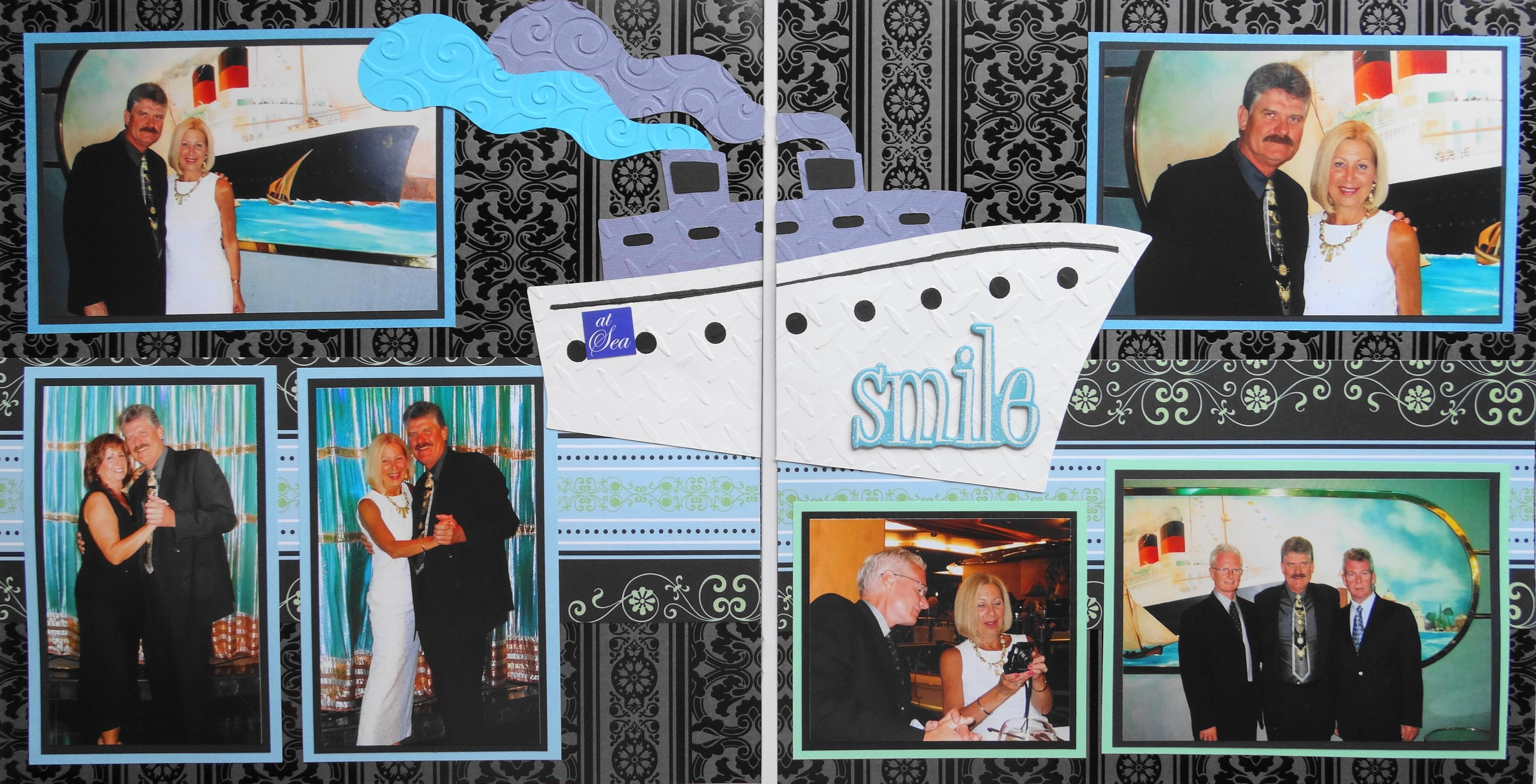 Norwegian Cruise Line Scrapbook Page Kit