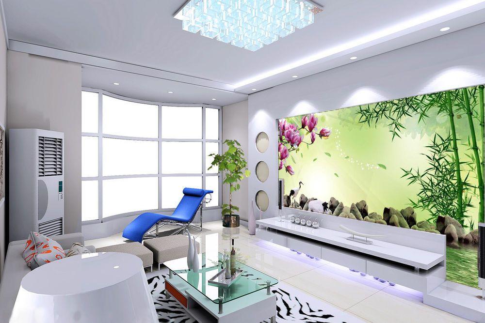3d Bamboo Flower Water 835 Wallpaper Mural Paper Wall Print Wallpaper Murals Uk Print Wallpaper Removable Wallpaper Wall Prints