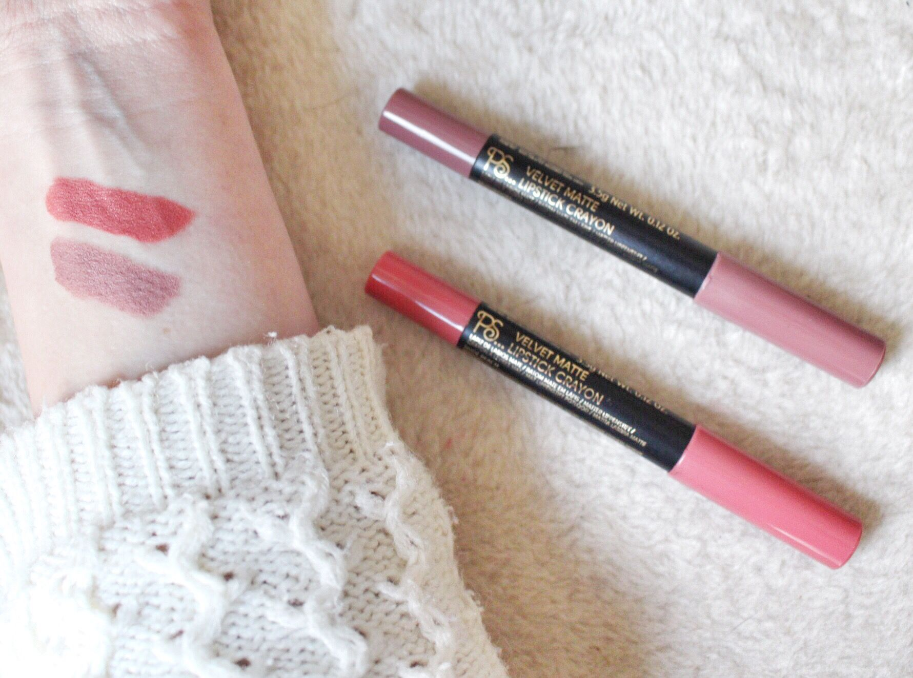 Célèbre BEAUTY WEEK – #5 Primark PS…Velvet Matte Lipstick Crayons – Katie  OU11