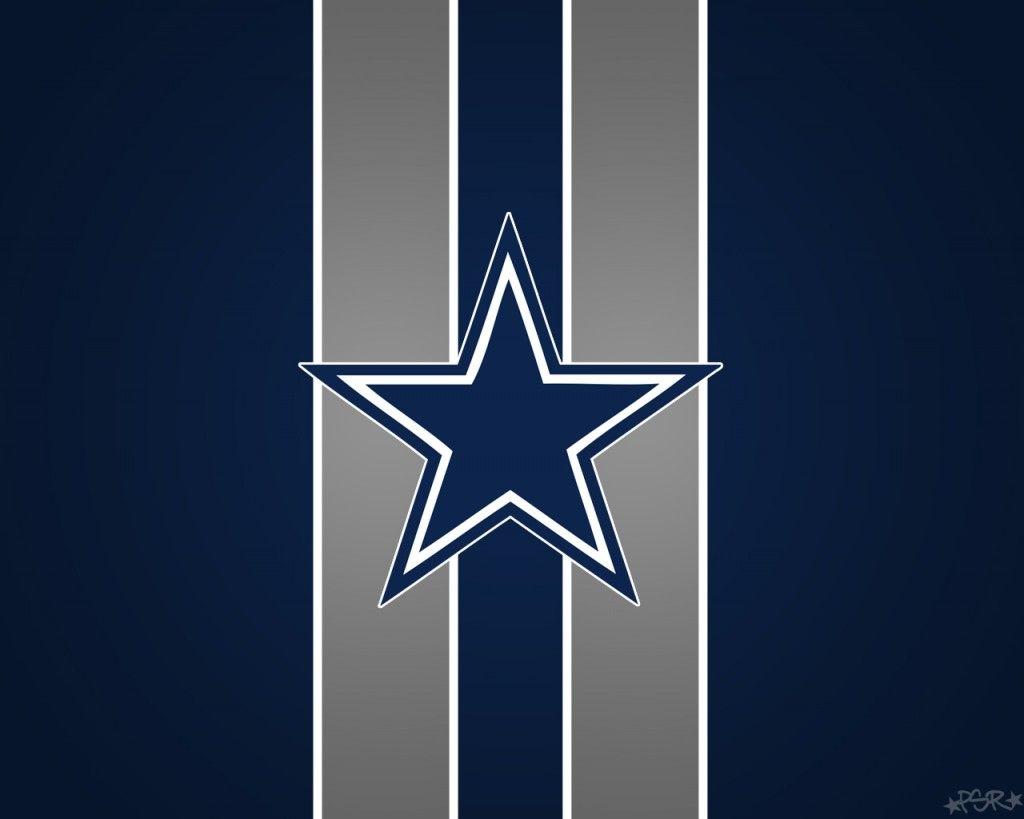 Dallas Cowboys. Logo. Wallpaper.