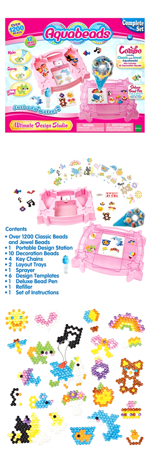 Aqua Beads Ultimate Design Studio Playset Combo Building Toys Kits