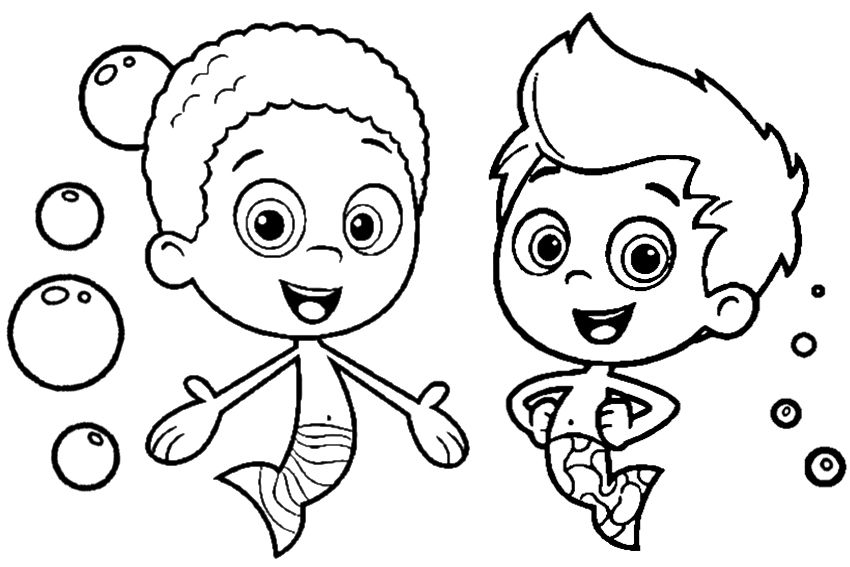 baby guppies coloring pages - photo#16