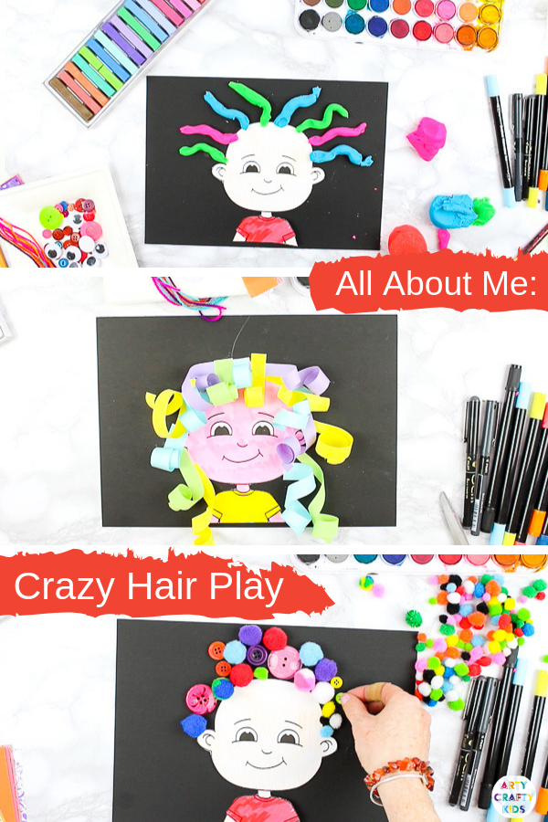 All About Me Drawing Activity for Kids