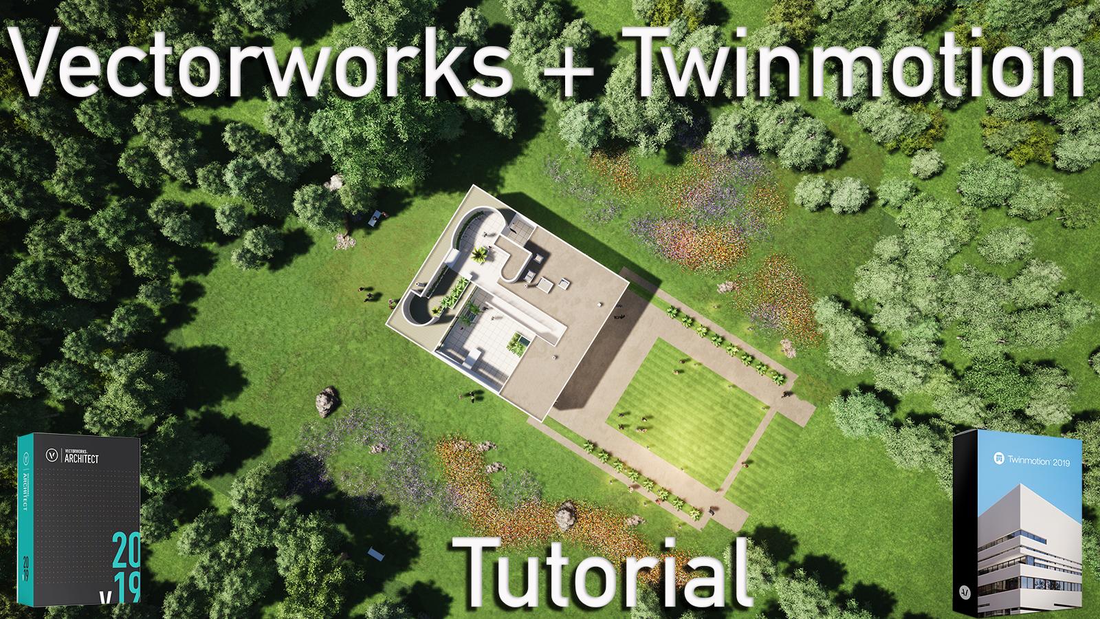 Twinmotion 2019 Tutorial Version: Re-imagining the Villa