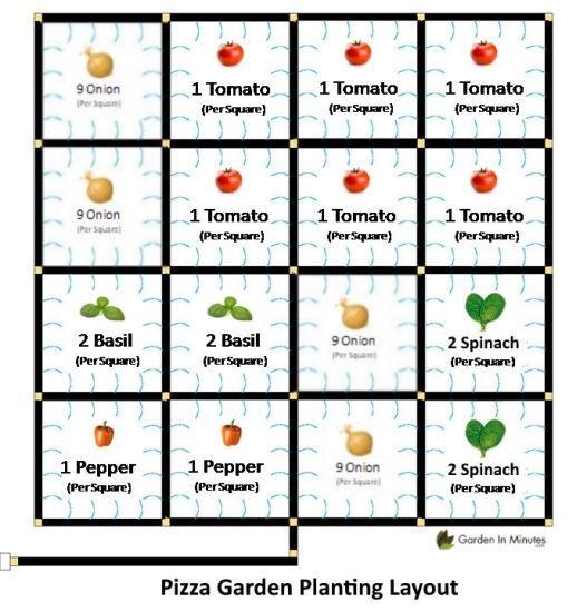 Growing a 'Pizza Garden' - GardenInMinutes - Heirloom Gardener