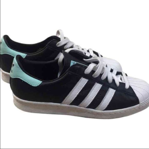 watch 08eaa 5131f ... italy adidas superstars size 8.5w custom so cant return too big for me.  runs