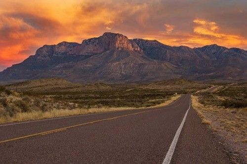 The Guadalupe Mountains of west Texas. Fossils, pictographs, and unlimited vistas await those who go.