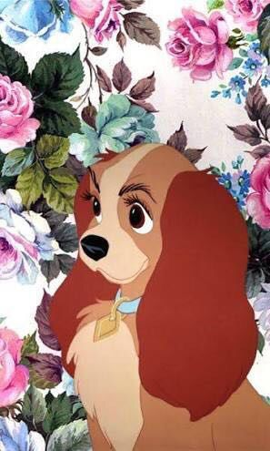 Lady The Tramp Phone Wallpaper Disney Phone Wallpaper Disney Wallpaper Wallpaper Iphone Disney