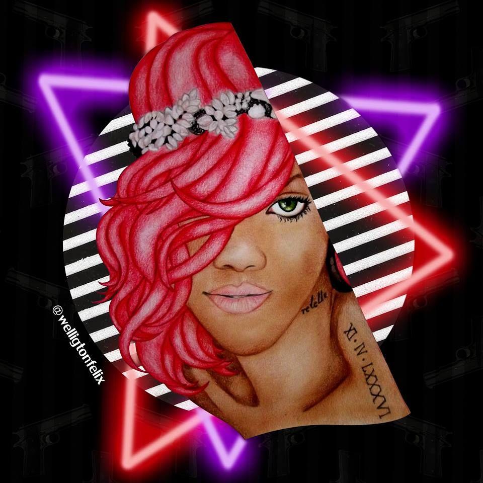 Rihanna <3 ArtDigital Loud
