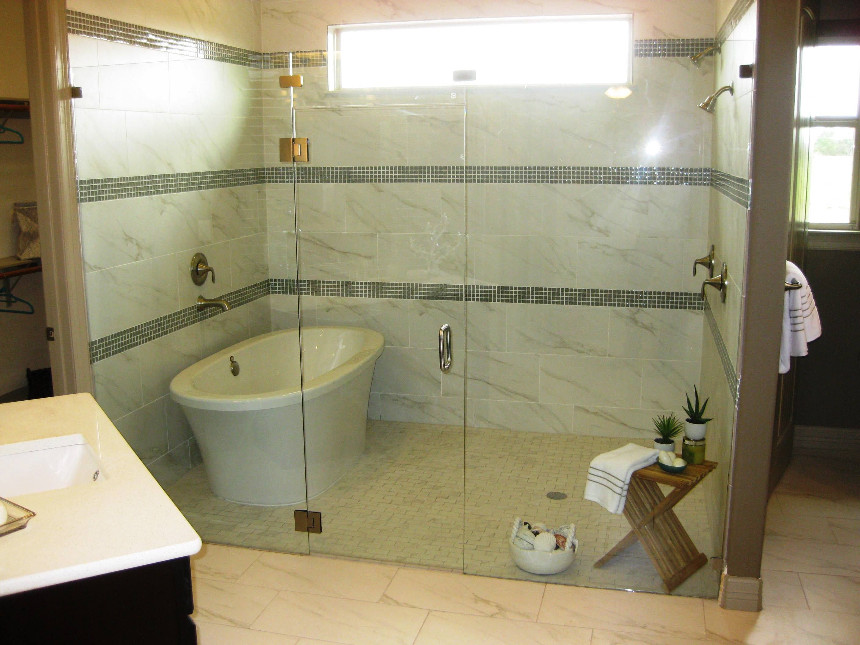 The master bath includes an exercise room and features a spacious ...