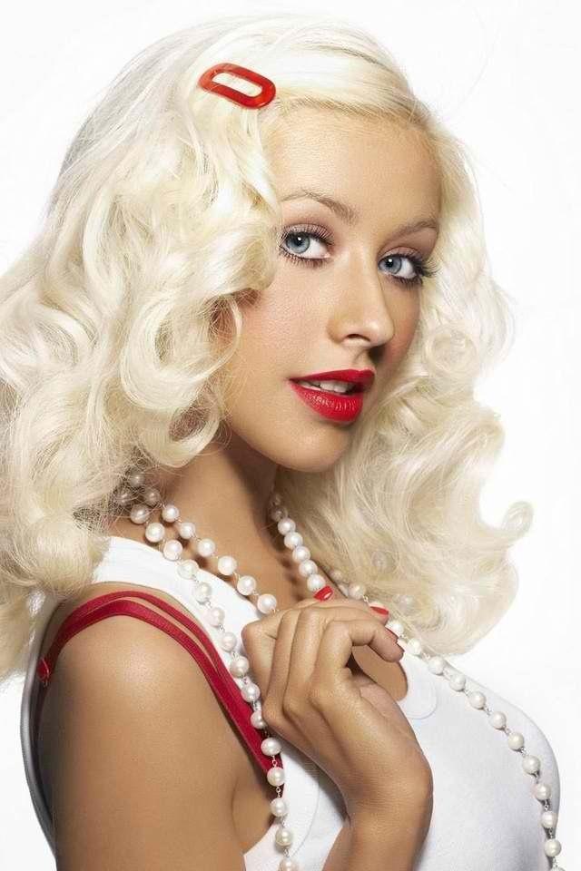 Christina Aguilera Christina Aguilera Beautiful Christina Blonde Celebrities