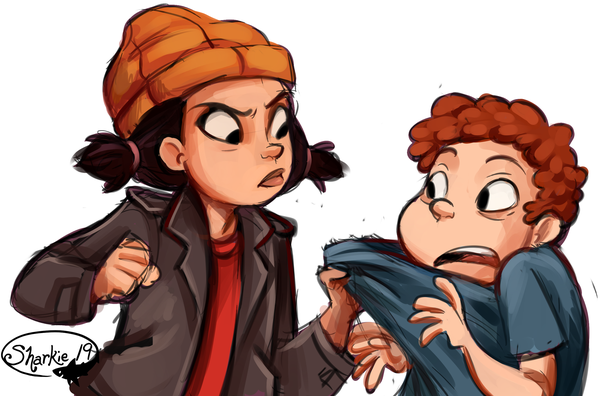Spinelli Mobili ~ Spinelli and randall by sharkie19 on deviantart cartoons