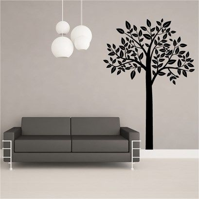 large tree wall art from next wall stickers | wall stickers