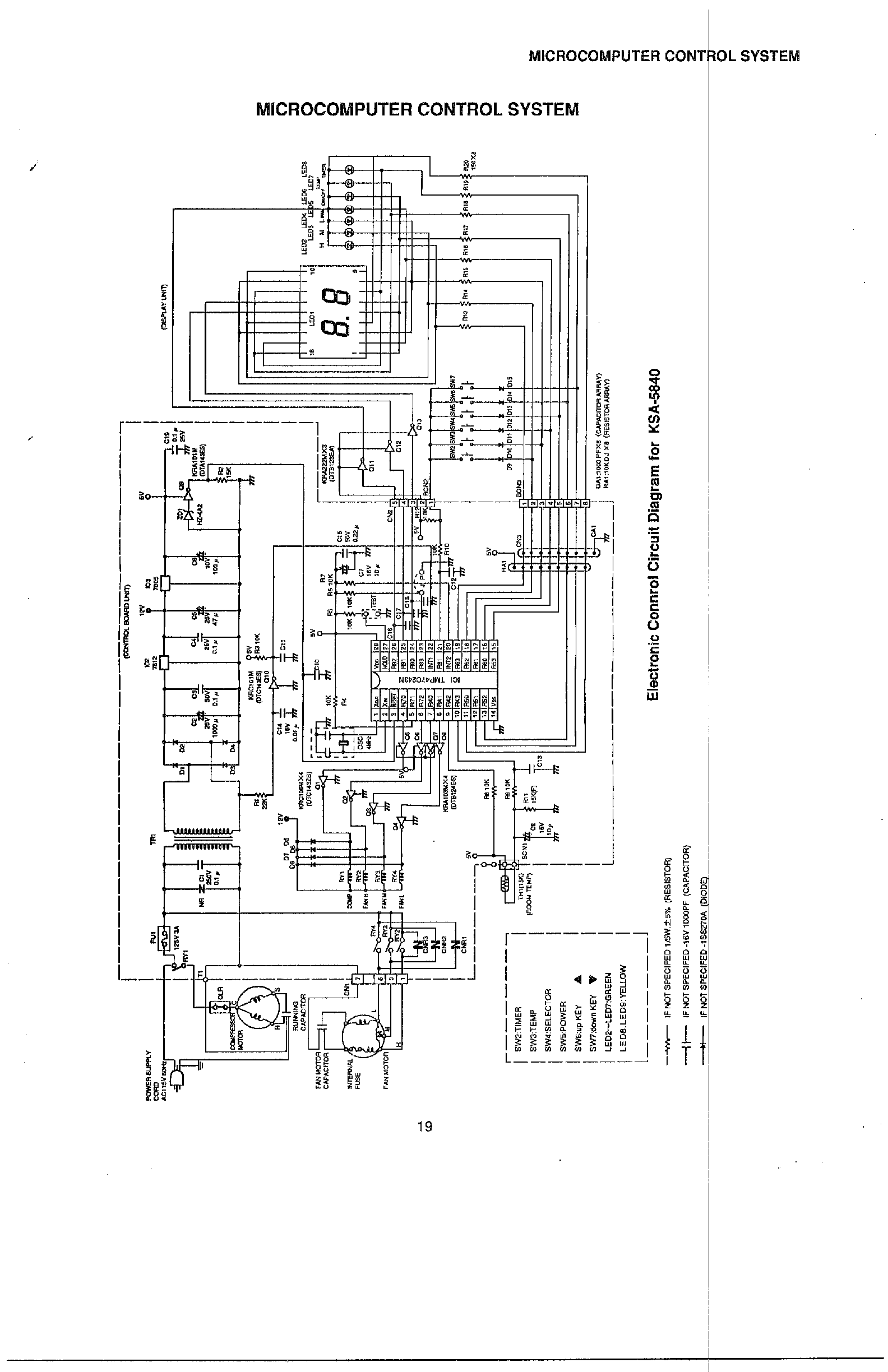 New Wiring Diagram Ac Sharp Inverter With Images Air