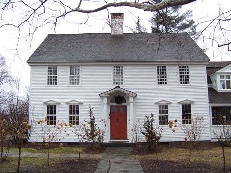 Colonial Style Homes Exude Tradition Warmth and the Patriotic