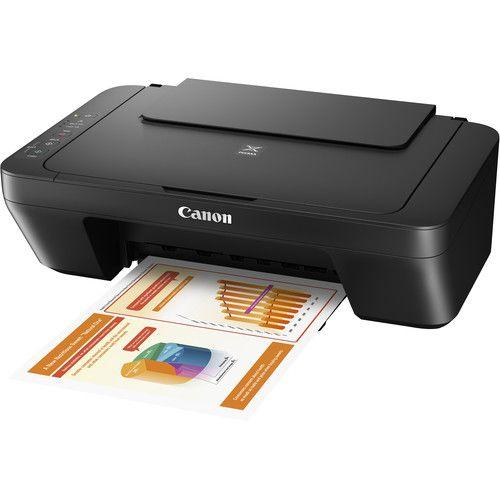 Canon Pixma Mg2525 All In One Inkjet Printer Black In 2020 Printer Driver Photo Printer Printer Scanner