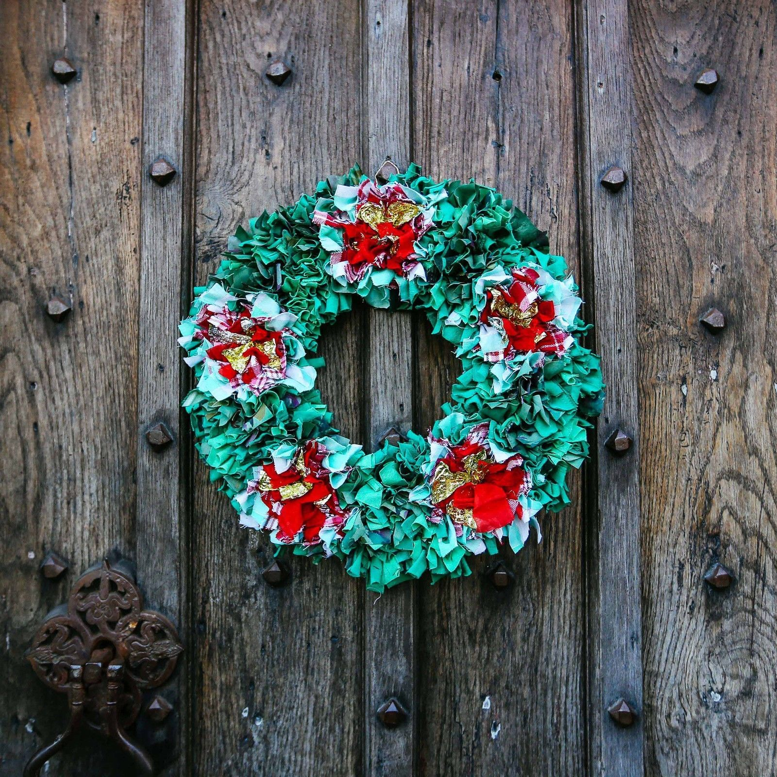 Rag Rug Wreath Kit W Instructional Dvd