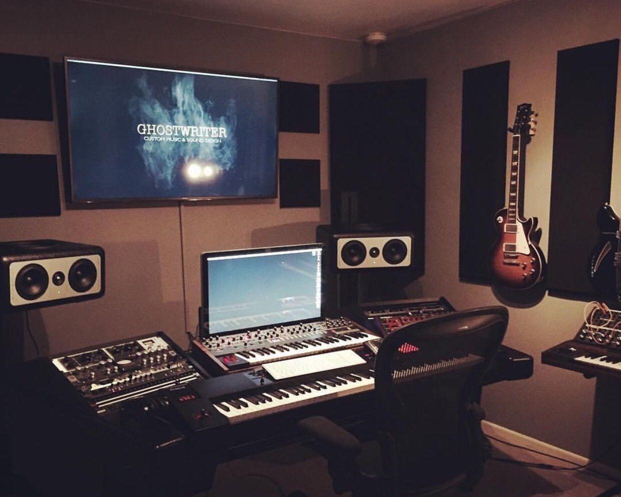 Pin von Mean Gene auf COOL RECORDING STUDIO SETUPS | Pinterest ...