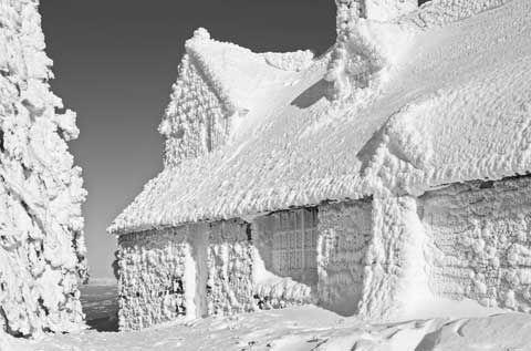 Historic Vista House, CCC, Mt. Spokane, Chair 1, Granite Stone & Timber Framing, Print ID #D011011Mts102