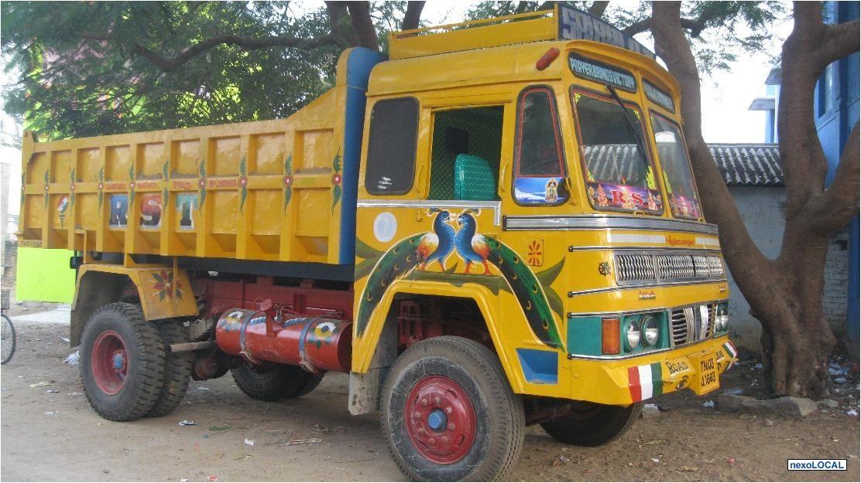 Ashok Leyland Tipper Lorry Tipper Lorry Ashok Leyland Monster