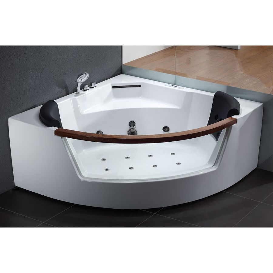 AM197 EAGO Whirlpool Bath Tub is a luxurious two-person jetted tub ...