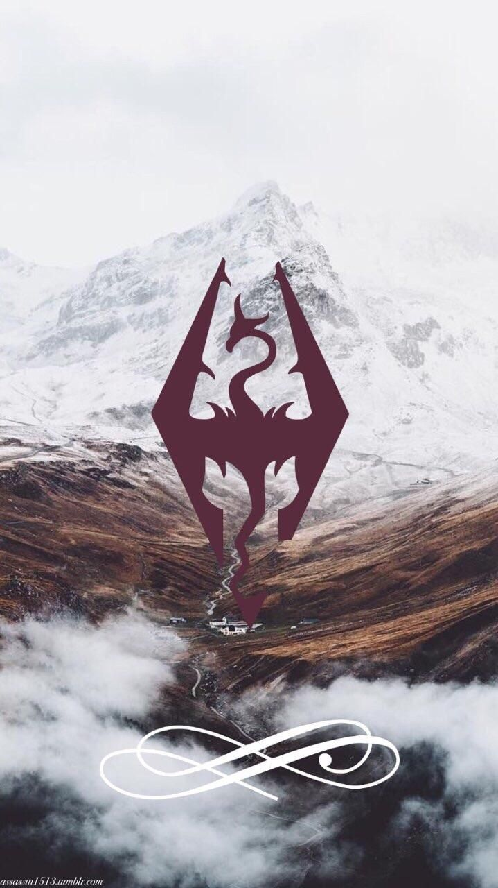 Skyrim Phone Wallpaper