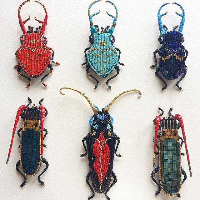 Броши жуки из коллекции 2016-2017 📍🐞возможны реплики под ...