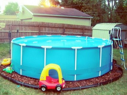 Intex Above Ground Pool Landscaping Ideas intex pool | pool | pinterest | backyard, white cabinets and white