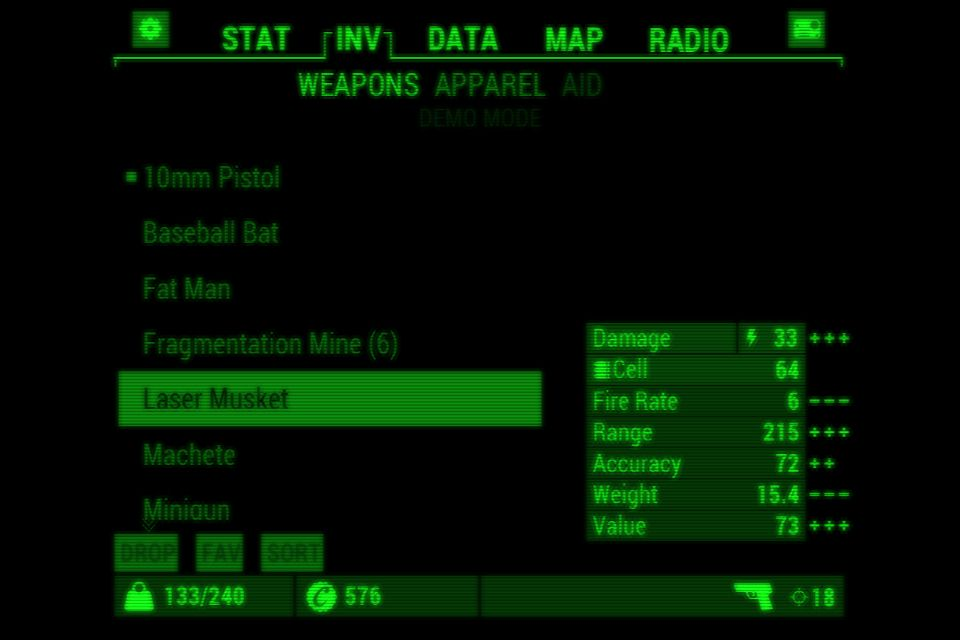 Fallout 4 PipBoy App (With images) Data map, Pip boy