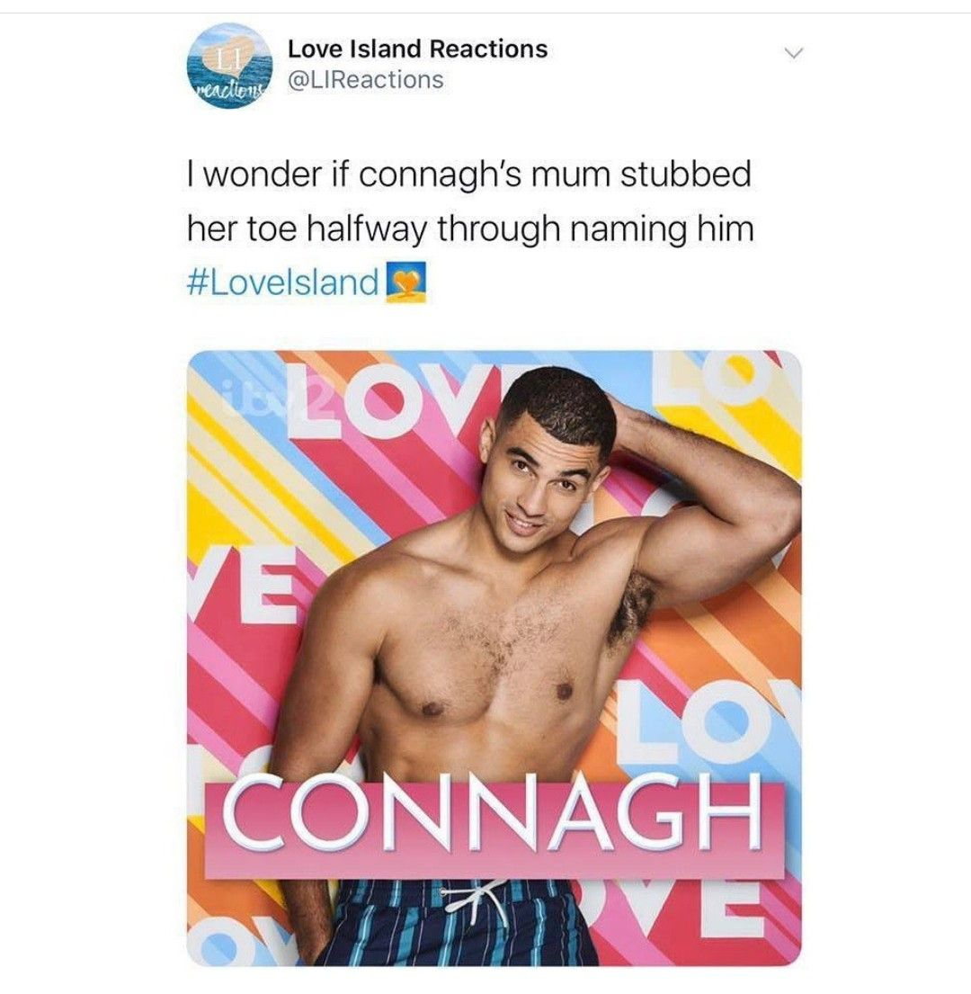 Connagh Winter Love Island 2020 Love Island Memes Quotes Winter Love