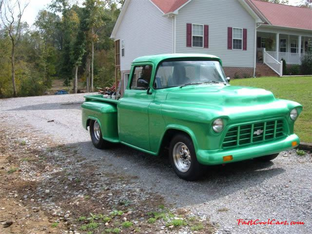 1956 Chevrolet Truck Big Back Window Pro Street Show 350 Bored 60