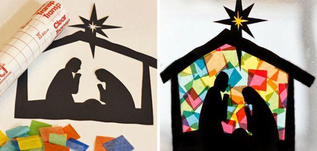 6 Manualidades Del Portal De Belén Para Estas Navidades Sapos Y Princesas Manualidades Murales De Navidad Navidad De Origami