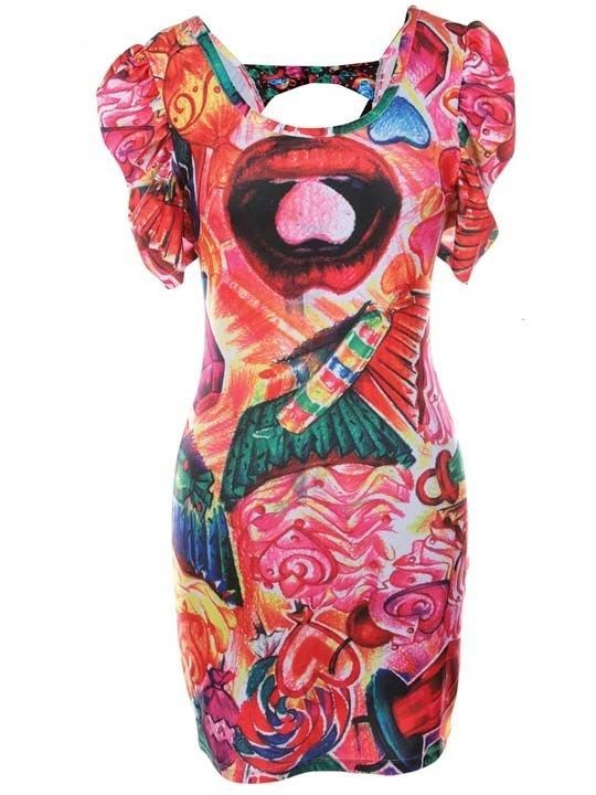 Iron fist sweet for my sweets bow back dress women (b8c) | Iron Fist ...