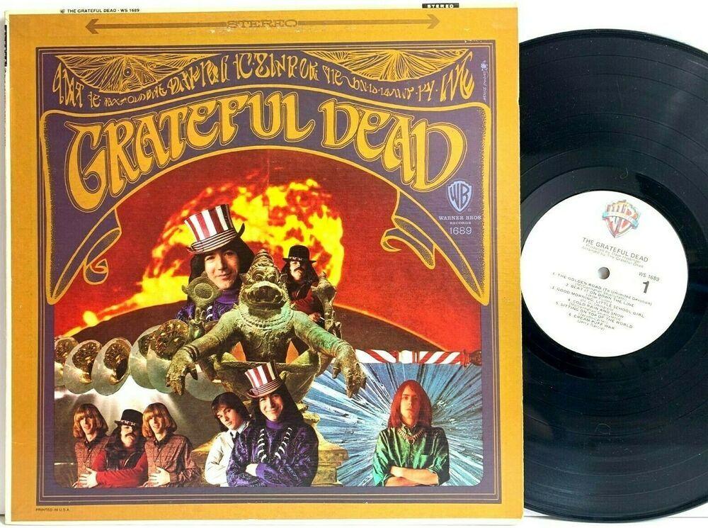 Grateful Dead Self Titled White Tan Label Stereo Ws 1689 Lp Vinyl Record Album Capitolcollectibles Com Stores Ebay Com Vinyl Records Vinyl