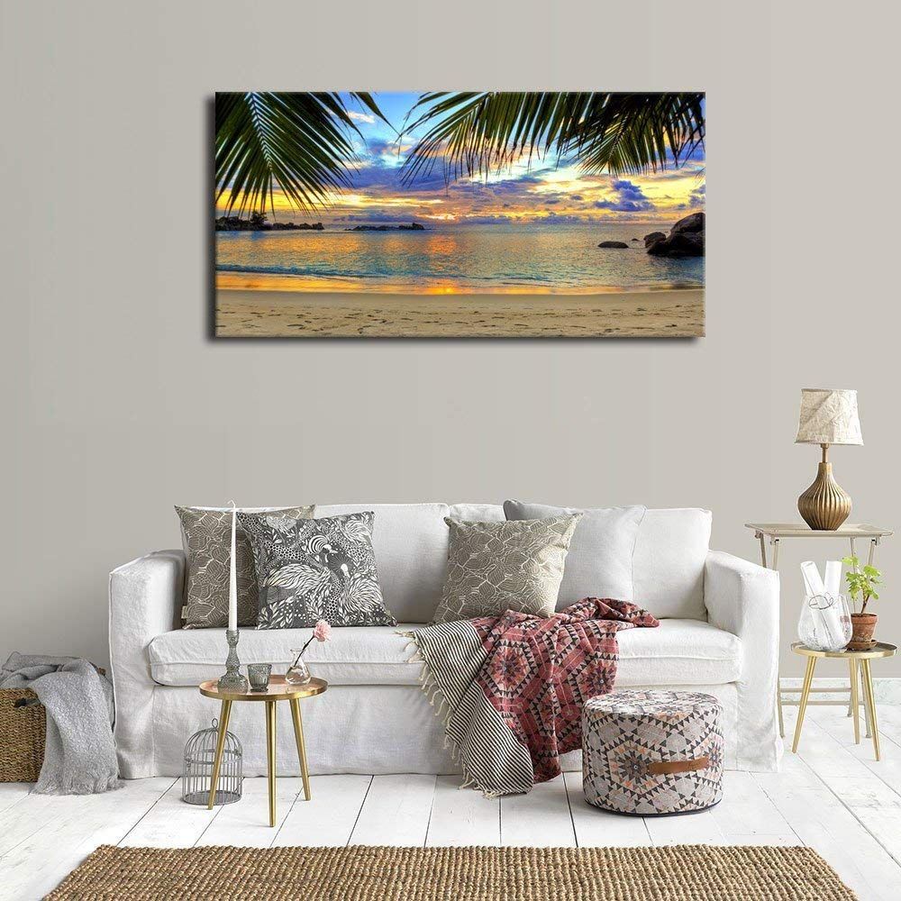 Best Palm Tree Wall Art And Palm Tree Wall Decor For 2020 Large