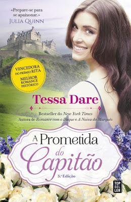 A Prometida Do Capitao Tessa Dare Livros De Romance Livros E