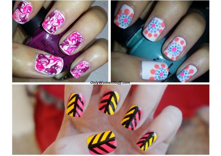 Easy Nail Art Designs At Home Without Tools Valoblogi Com
