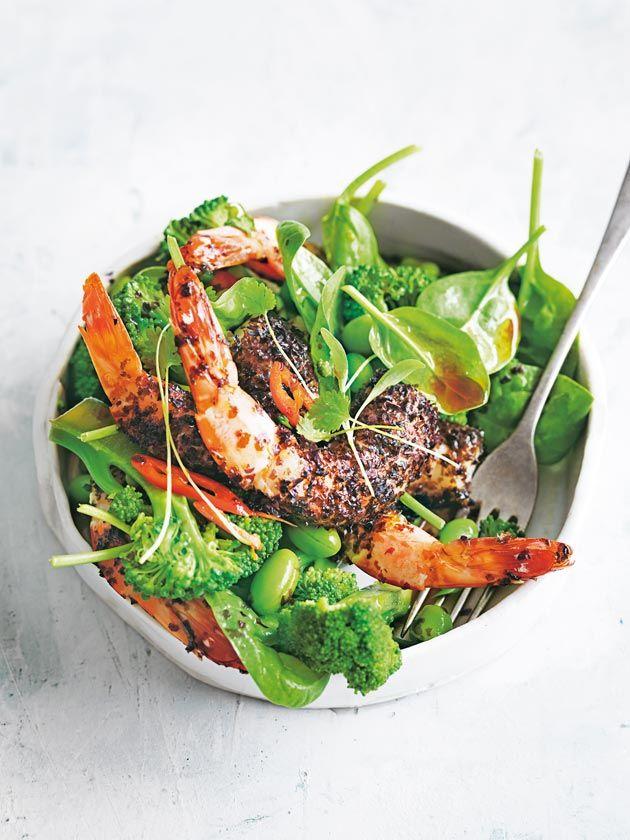 Nori Prawn Salad With Broccolini | Donna Hay