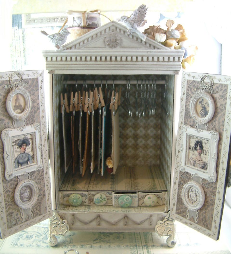 ATC Armoire - Look at all the other photos of this piece of art! This is unbelievably beautiful!