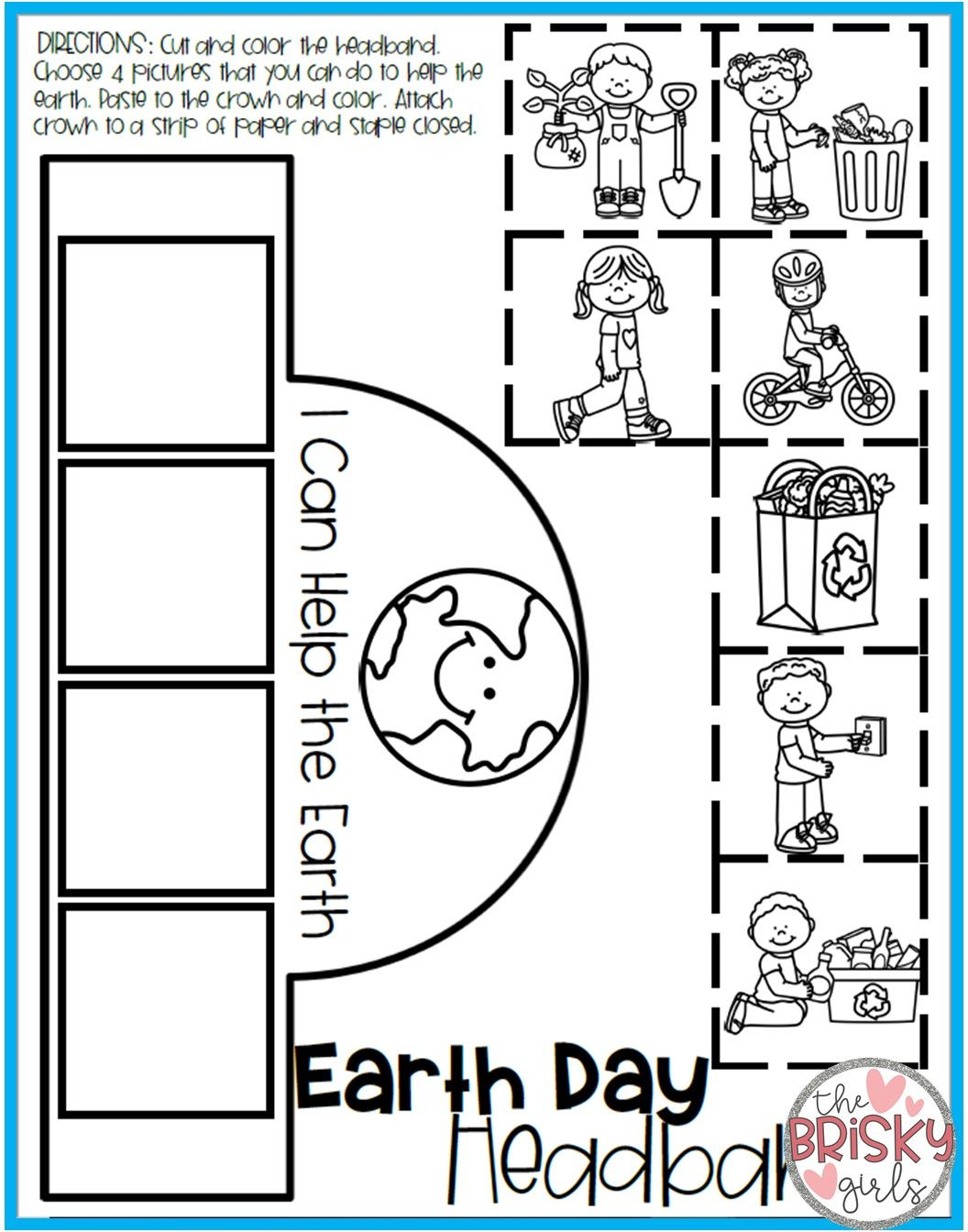 Earth Day Activities Take Home Packet Kindergarten With Images