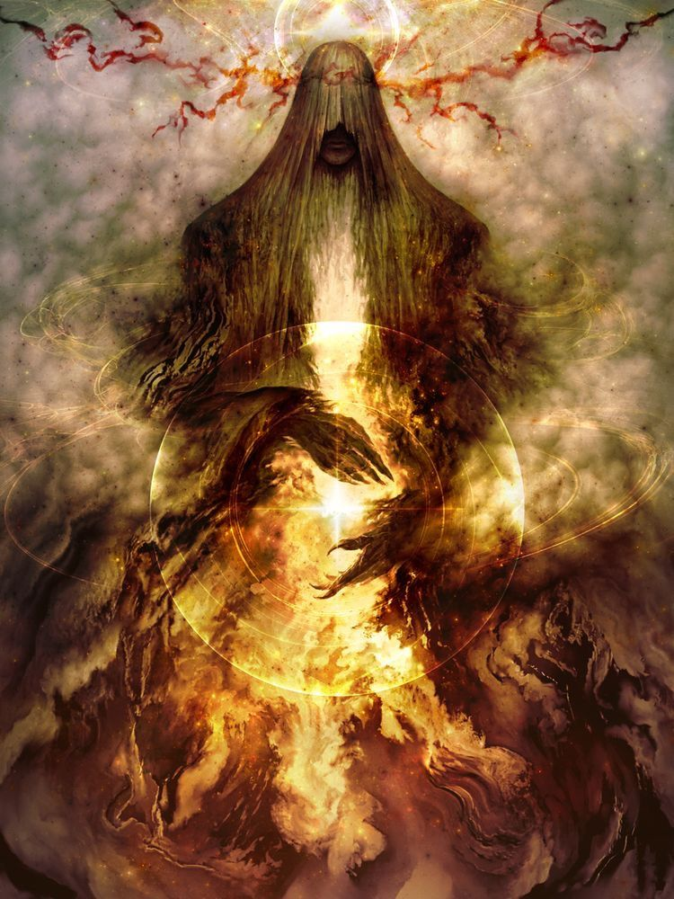 Eru Iluvatar | Tolkien art, Melkor, Middle earth
