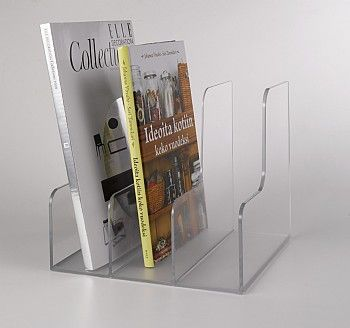 Acrylic Book Rack Magazine Rack Book Racks Magazine Rack Symple Stuff