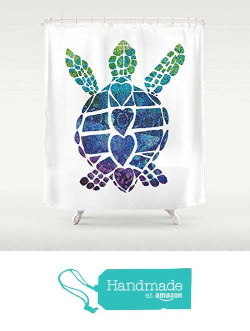 Sea Turtle Love Shower Curtain From Aftermyart Turtle Room