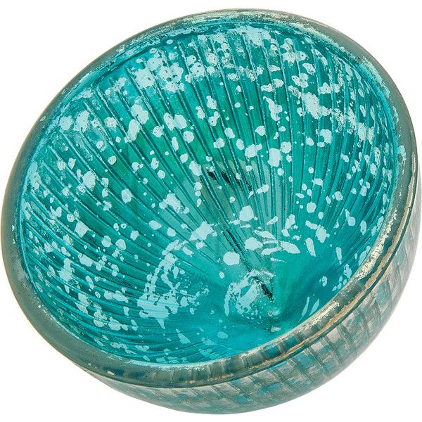 320 liked on polyvore featuring home home decor candles candleholders turquoise home decor mercury glass tealight turquoise home accessories