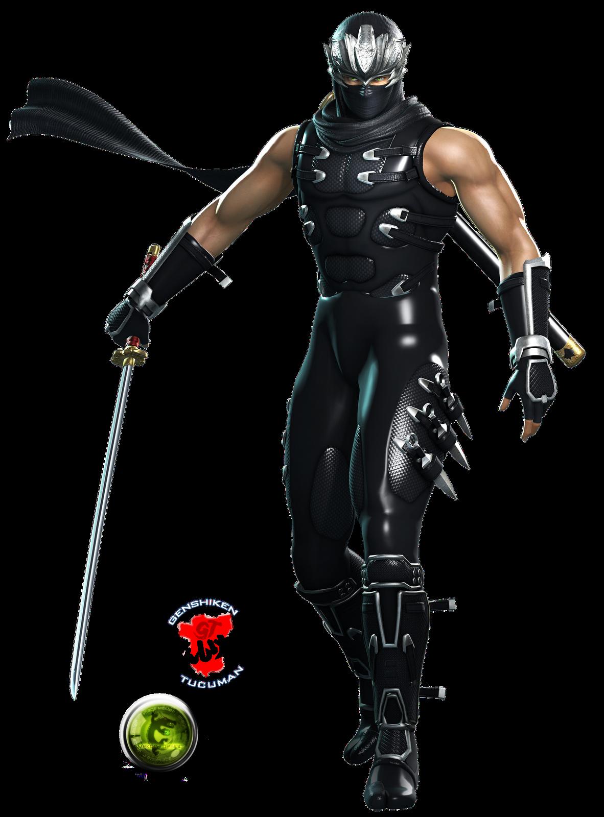 Ryu Hayabusa Render Png 1182 1600